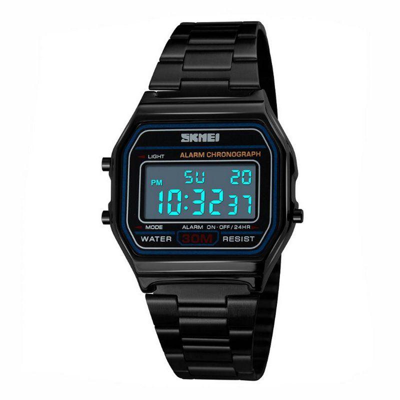 deb7bf3ddd6 Relógio Unissex Skmei Digital 1123 Preto - ShopDesconto - Aqui você ...