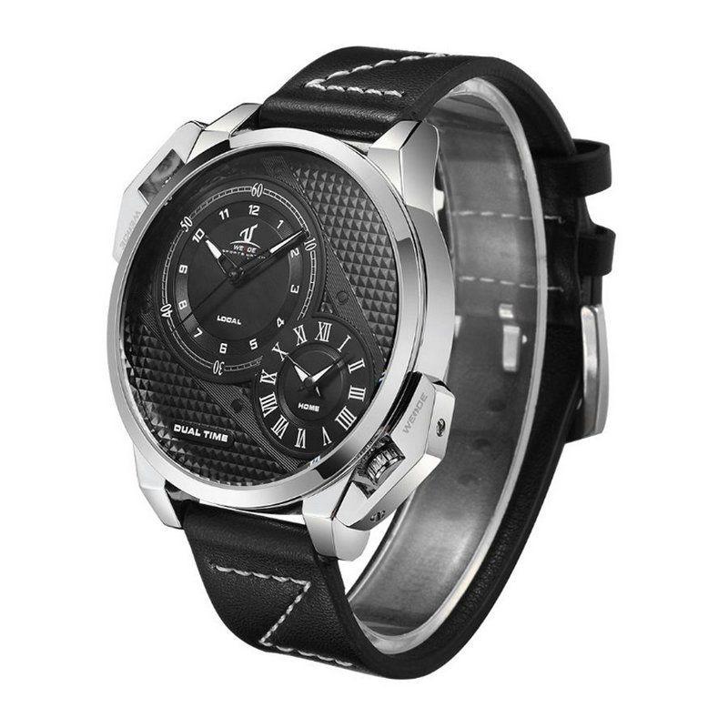 Relógio Masculino Weide Analógico UV-1706 - Preto - ShopDesconto ... 29b1c6e0586a3
