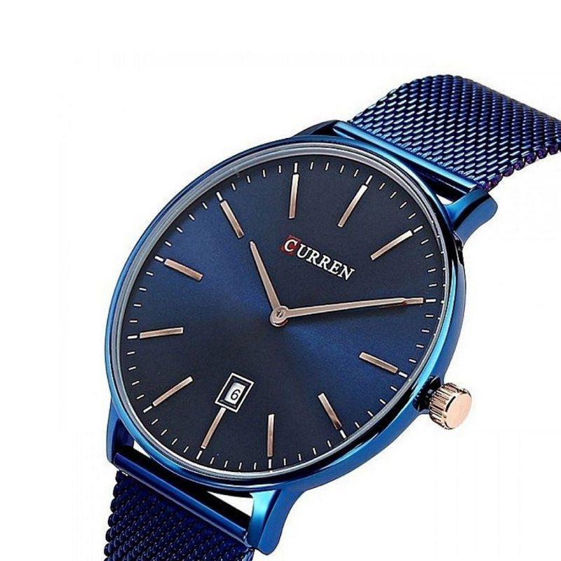 aa363402b Relógio Masculino Curren Analógico 8302 - Azul - ShopDesconto - Aqui ...