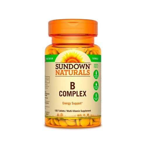 a66e181b5 Complexo B Sundown - 100 Capsulas - Produtos para Saúde e Bem Estar ...