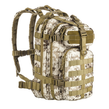 Mochila Militar Invictus Assault Digital Deserto 30 Litros