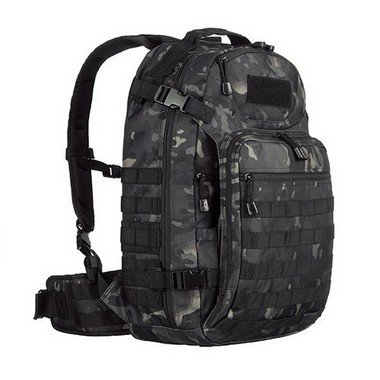 Mochila Militar Invictus Mission Multicam Black 45 Litros