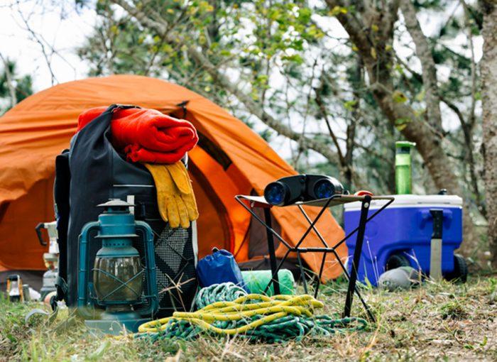 Tudo para Camping