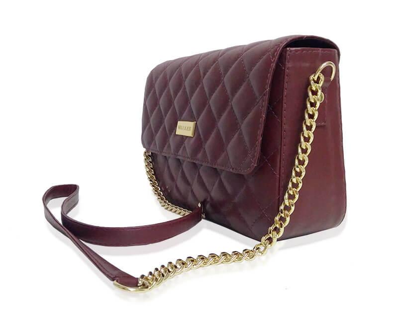 bolsa tiracolo feminina alça corrente