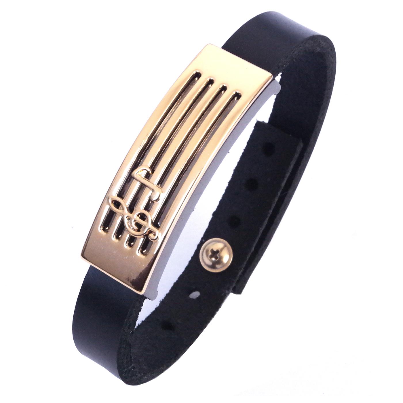 pulseira-de-couro-cruz-negro