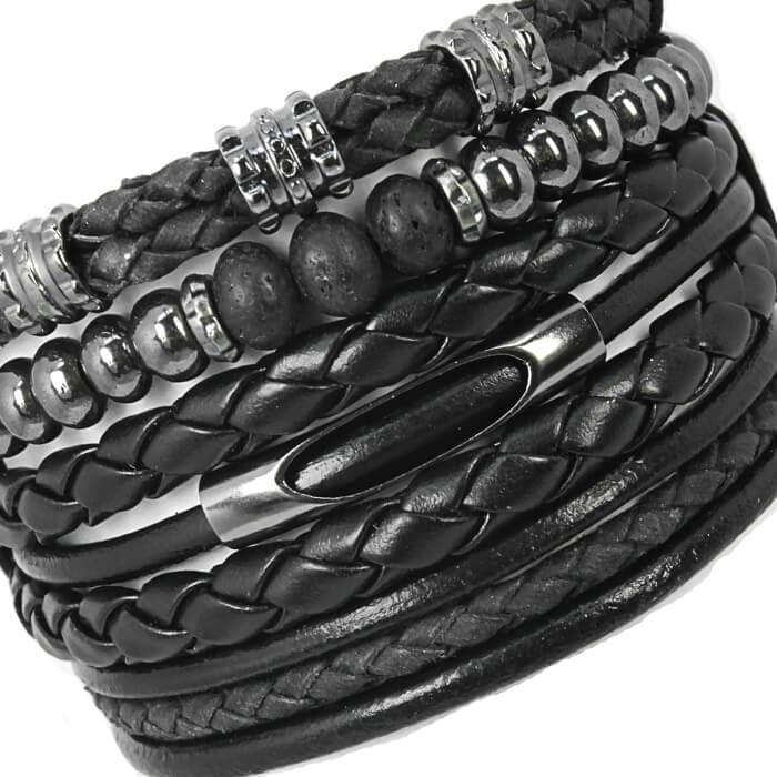pulseiras-negras-masculinas