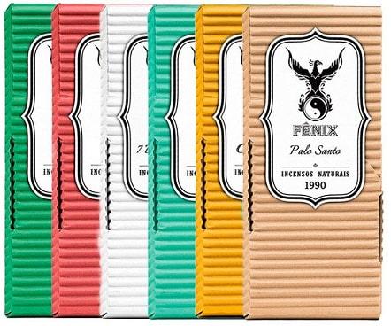 Kit Incenso Natural Fênix - Com 6 unidades