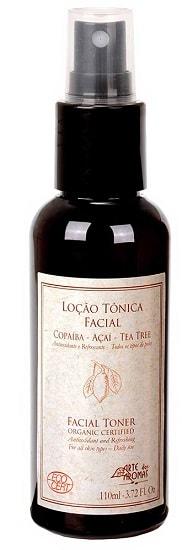 Loção Tônica Facial Orgânica Ecocert Arte dos Aromas 110ml