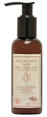 Loção de Limpeza Facial / Demaquilante Orgânico Arte dos Aromas