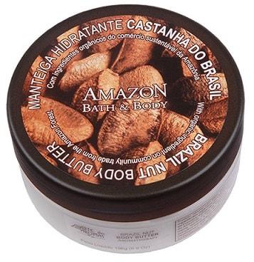 Manteiga Corporal Arte dos Aromas Castanha 196g