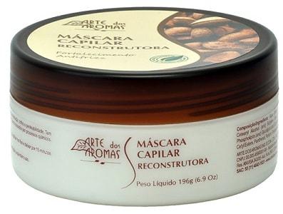 Máscara Capilar Castanha do Brasil Arte dos Aromas 196g