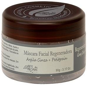 Máscara de Argila Cinza Arte dos Aromas - Regeneradora - 90g