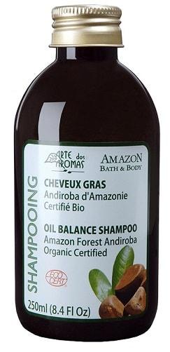 Shampoo Natural Arte dos Aromas Andiroba Orgânico Ecocert 250ml