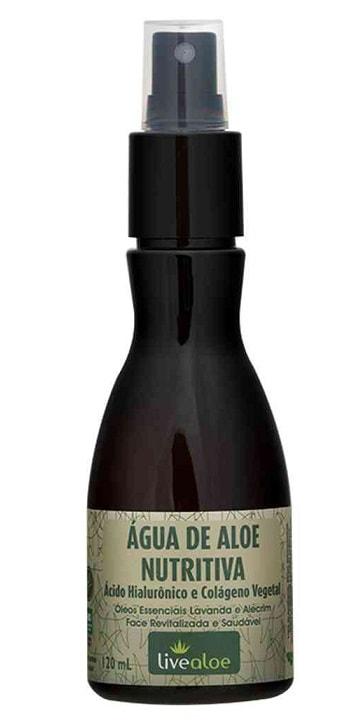 Água de Aloe Nutritiva LiveAloe 120ml