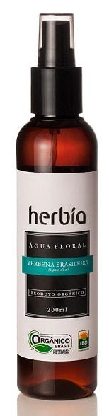 Água Floral - Hidrolato Orgânico de Verbena Brasileira Herbia 200ml