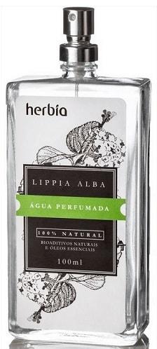 Água Perfumada Orgânica Vegana Lippia Alba Herbia 100ml
