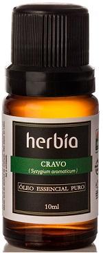 aromaterapia óleo essencial cravo herbia