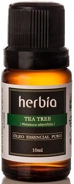 Óleo Essencial de Melaleuca - Tea Tree Orgânico Herbia 10ml