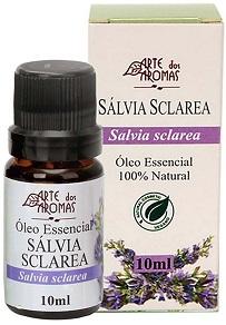 Aromaterapia - óleo essencial de sálvia sclarea Arte dos Aromas
