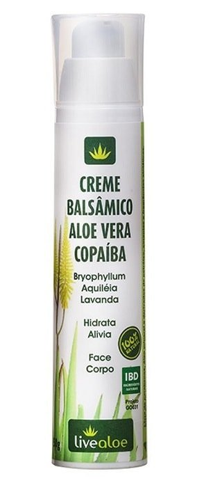 Creme Balsâmico Natural LiveAloe 50g