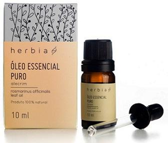 Óleo essencial herbia alecrim