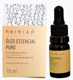 óleo essencial hortelã japonesa herbia