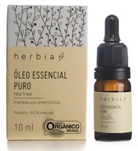óleo essencial herbia tea tre melaleuca