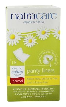 absorvente ecológico diário natracare panty liners normal