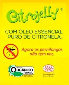 Difusor de Aromas Orgânico Repelente de Citronela WNF Citrojelly
