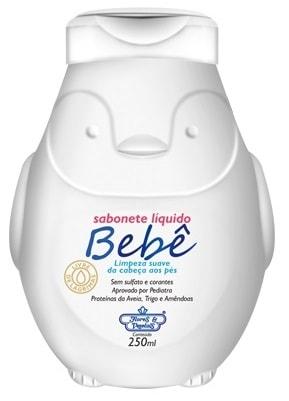 Sabonete Líquido Vegano Bebê Flores & Vegetais 250ml
