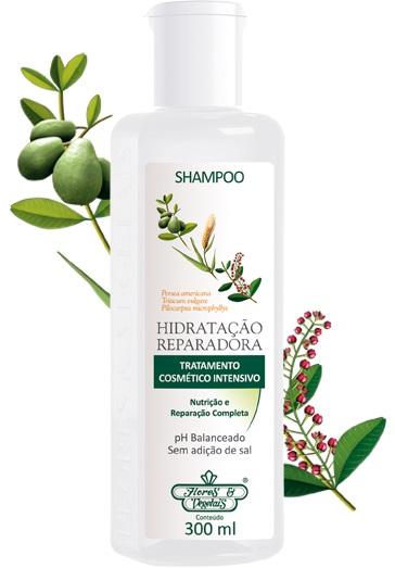 Shampoo Flores & Vegetais Hidratação Reparadora 300ml