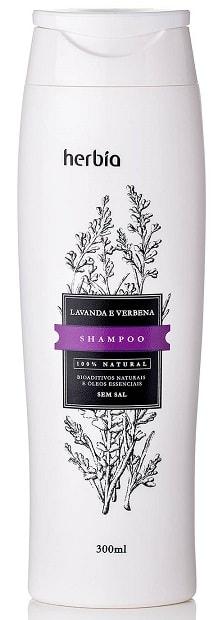 Shampoo Natural Orgânico Lavanda Herbia 300ml