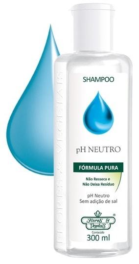Shampoo Vegano Ph Neutro Flores & Vegetais 300ml