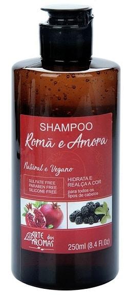 Shampoo Arte dos Aromas Romã e Amora 250ml