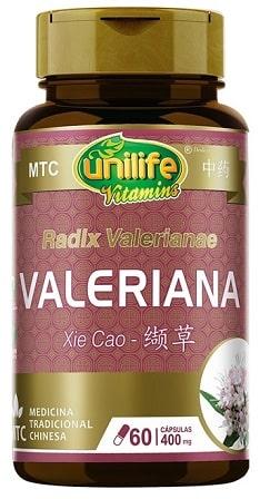 Valeriana Unilife - 60 Cápsulas