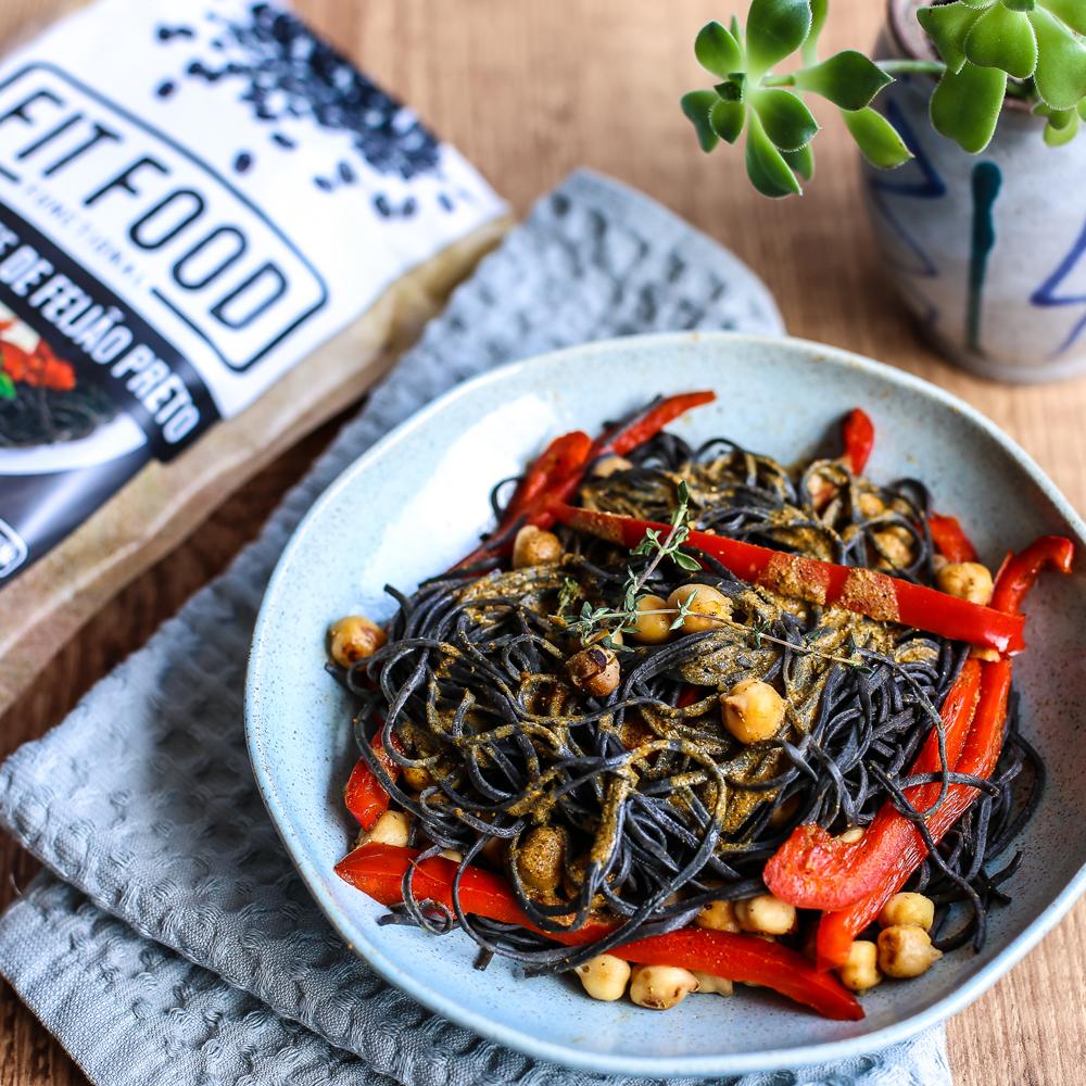 Espaguete de Feijão Preto 200g FIT FOOD-3