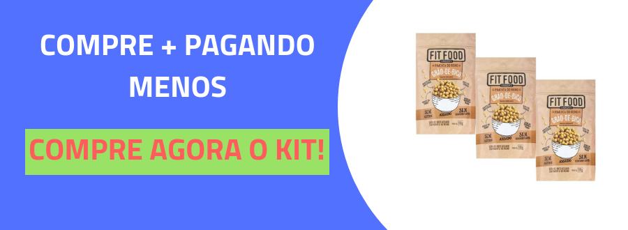 Snack Grao-de-Bico Pimenta do Reino 100g FIT FOOD-3