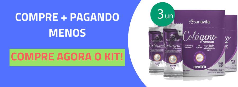 KIT 2 HYALURONIC ÁCIDO HIALURÔNICO SKIN DA SANAVITA ABACAXI COM LIMÃO 270G -3
