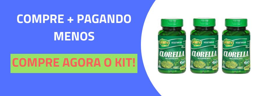 Clorella 500MG Unilife 60 Cápsulas-4