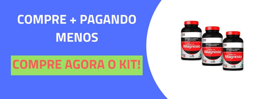Cloreto de Magnésio 500mg Chá Mais 120 cápsulas-3