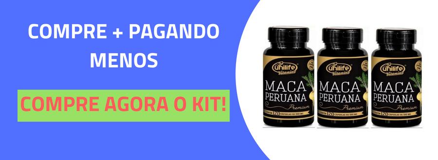 Maca Peruana Premium 550mg Unilife 120 capsulas-5