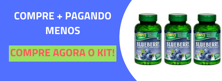 Blueberry Unilife 120 Cápsulas-4