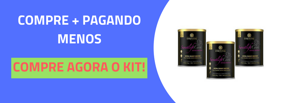 Sweetlift Cook Adoçante Natural Essential Nutrition 300g-4