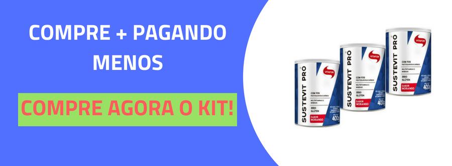 Sustevit Fibras Alimentares Vitafor 400g Baunilha-3