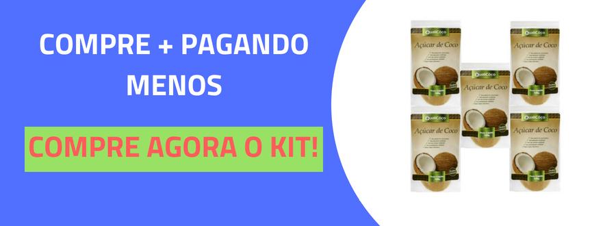 Açúcar de coco 100g natural QualiCôco-3