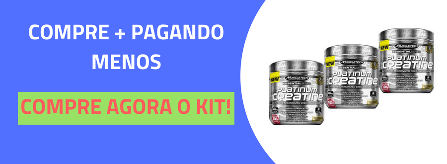 Platinum Creatina 100% Pura Muscletech 400g-5