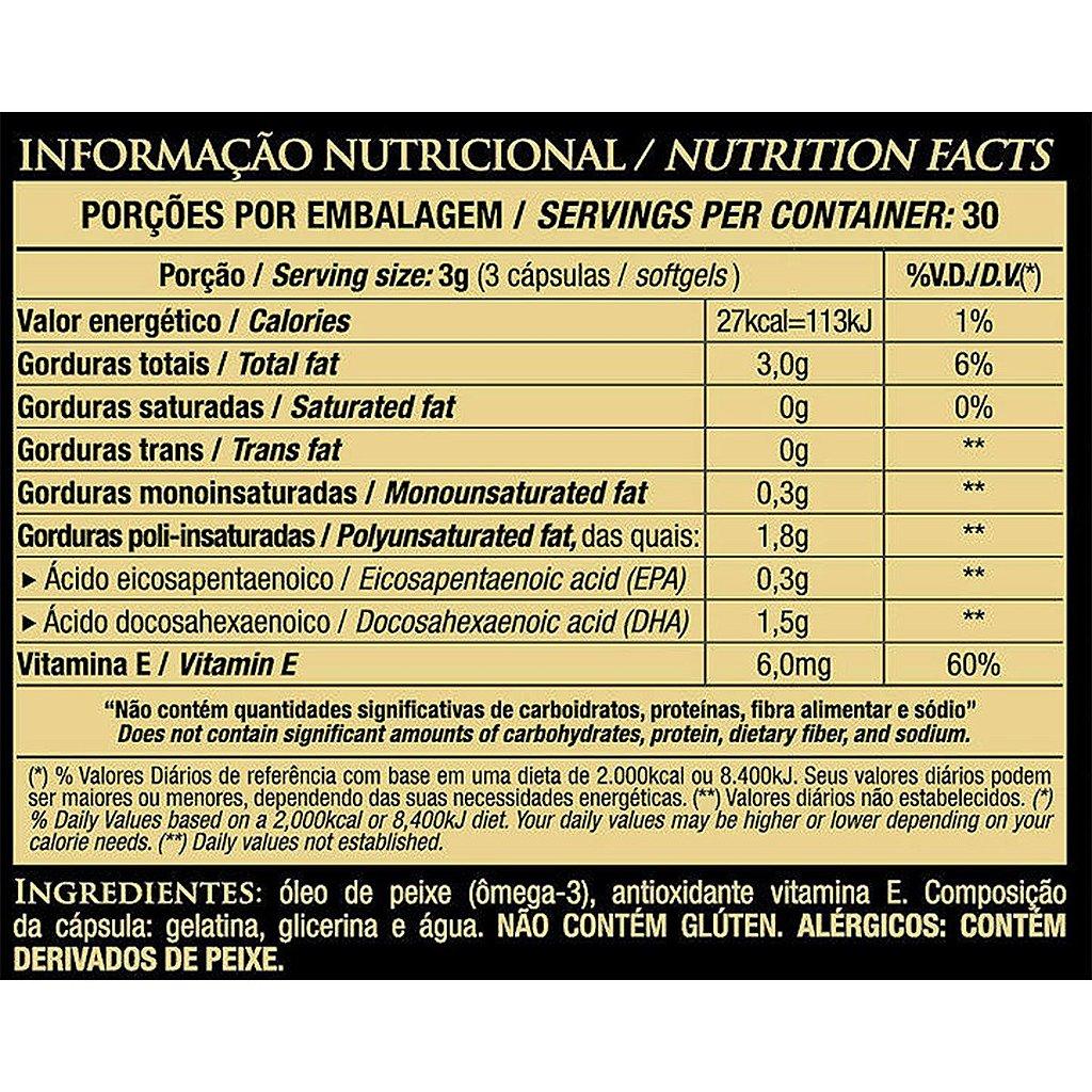 77ff73125 ... DHA Óleo de Peixe 1000mg Essential Nutrition 90 Cápsulas - Imagem 2