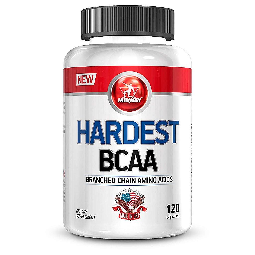26a76702d Hardest BCAA Midway 120 cápsulas - Edin