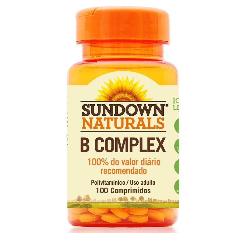 c0542045e Complexo B Sundown 100 Comprimidos - Edin
