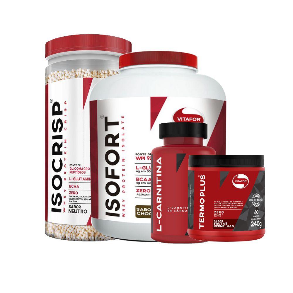 a34d25b8c Kit definição de massa muscular Vitafor - Edin